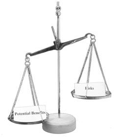 Benefit and Risk Balance