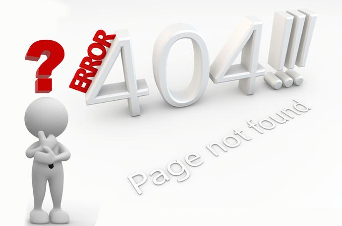 404 Error Banner